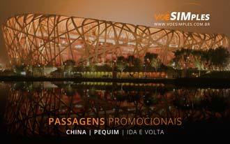 Promoção de passagens para Pequim na China