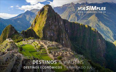 Melhores destinos econômicos da América do Sul