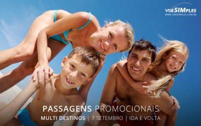 Passagens aéreas para o feriado de 7 setembro 2016