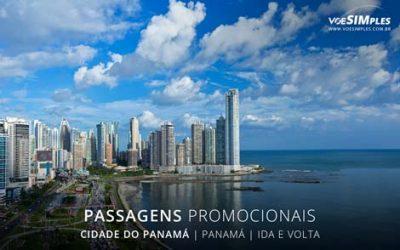 Passagens aéreas promocionais para Cidade do Panamá