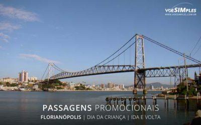 Passagem aérea promocional para o feriado dia do professor para Florianópolis