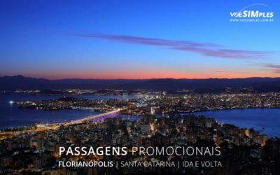 Passagens aéreas promocionais para Florianópolis