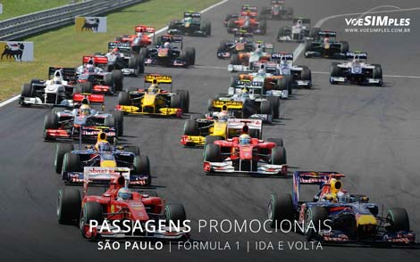 Passagem aérea para a Formula 1