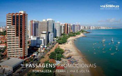 Passagens aéreas promocionais para Fortaleza