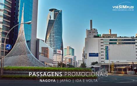 Passagens aéreas promocionais para Nagoya