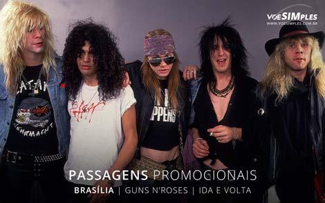 show do Guns N'Roses em Brasília