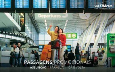 Passagens aéreas promocionais para o Assunção