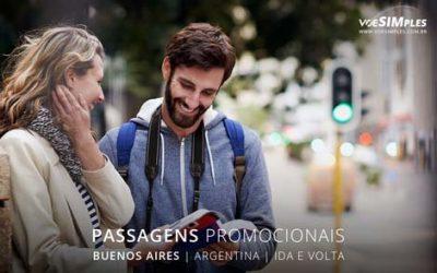 Passagens aéreas promocionais para Buenos Aires