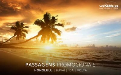 Passagem aérea para Honolulu