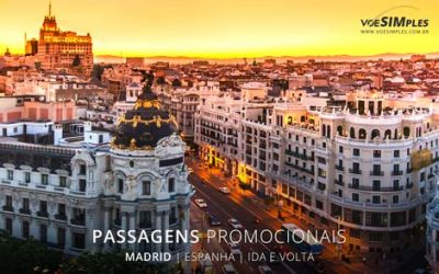 Passagem aérea para Madrid