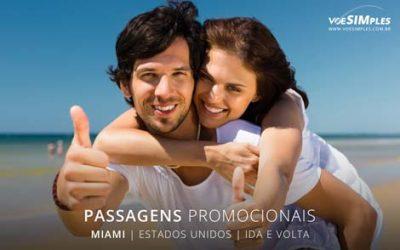 Passagens aéreas promocionais para Miami