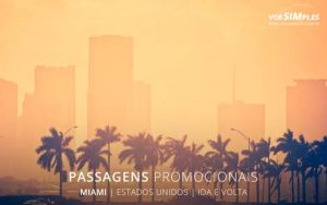 Passagem aérea para Miami