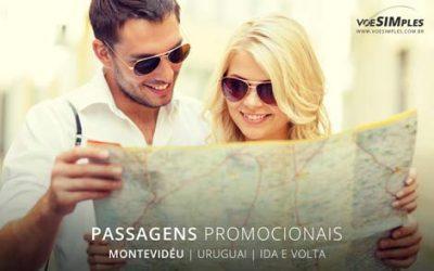 Passagens aéreas promocionais para Montevidéu
