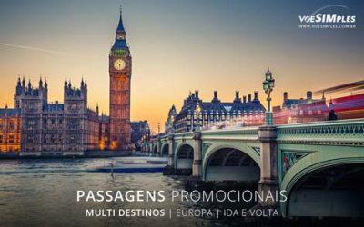 Passagem aérea para Europa