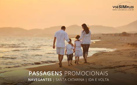 Passagens aéreas promocionais para Navegantes