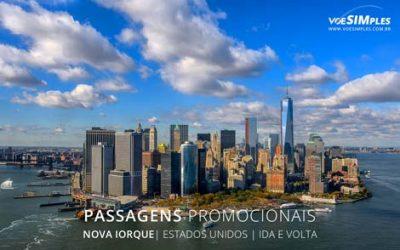 Passagem aérea para Nova Iorque