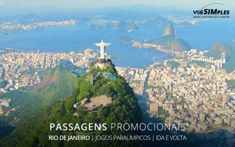 Passagens aéreas promocionais para os Jogos Paralímpicos