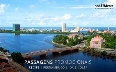 Passagens aéreas promocionais para Recife