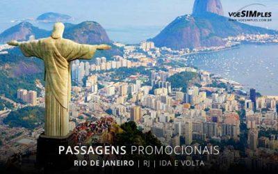 Passagens aéreas promocionais para o Rio de Janeiro
