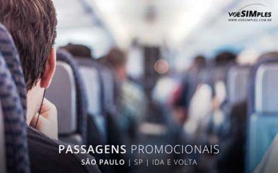 Passagens aéreas promocionais para São Paulo