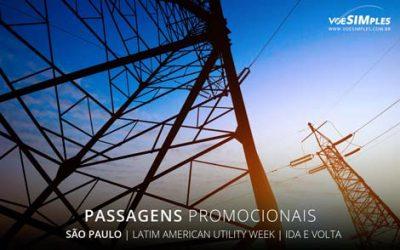 Passagem aérea para Latin American Utility Week