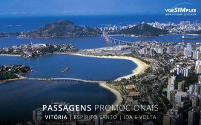 Passagens aéreas promocionais para Vitória