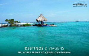 Melhores praias no Caribe Colombiano
