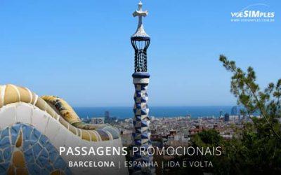 Passagem aérea para Barcelona