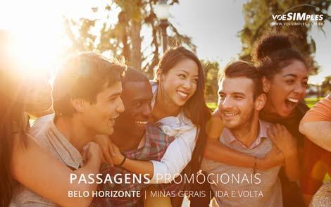 Passagem área para Belo Horizonte