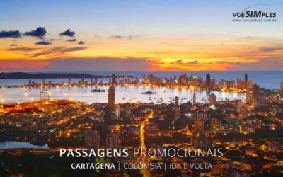 Passagem aérea para Cartagena