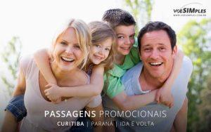 Passagem aérea para Curitiba
