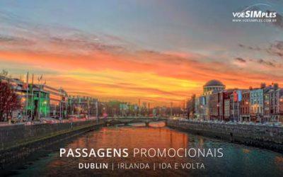 Passagem aérea para Dublin