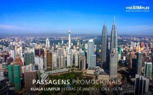 Comprar passagens aéreas de férias Brasil 2017 para Kuala Lumpur