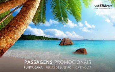 Passagem aérea promo de férias Brasil para Punta Cana