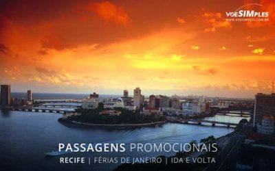 passagens aéreas de madrugada para turismo em janeiro 2017 no Recife