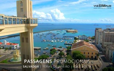 Passagem aérea feriado de férias janeiro para Salvador