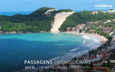 Passagens aéreas em promoção de férias no Brasil 2017 para Natal