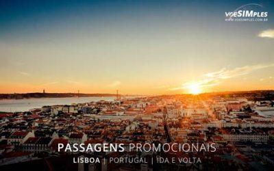 Passagem aérea para Lisboa
