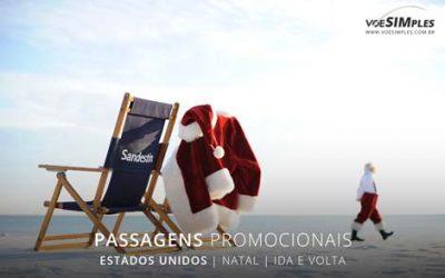 Passagens aéreas internacionais para o feriado de natal