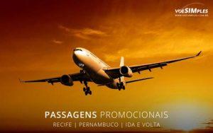 Passagem aérea para Recife