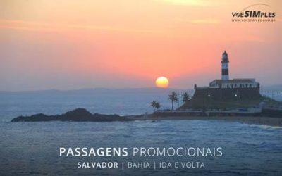 Passagem aérea para Salvador
