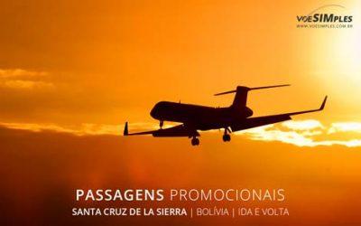Passagem aérea para Santa Cruz de La Sierra