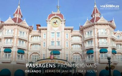 Passagens aéreas baratas para férias de janeiro para Orlando