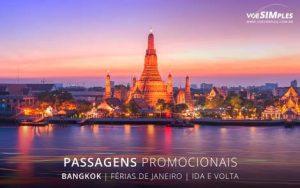 Passagens aéreas para melhores destinos de férias de janeiro 2017 para Bangkok