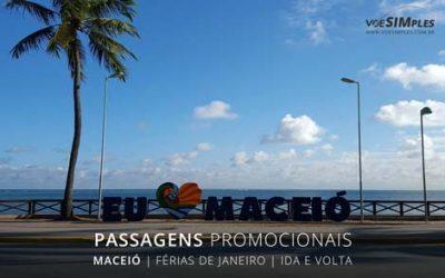 passagem aérea relâmpago de férias em Maceió