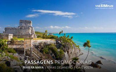 Passagens aéreas promo de férias de verão para Riviera Maya