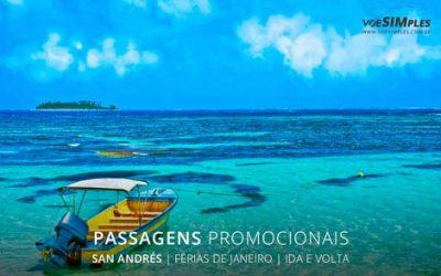 Passagem aérea em promoção para férias de verão 2017 para San Andres