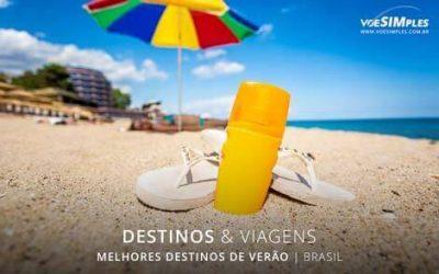 melhores destinos de verão no Brasil
