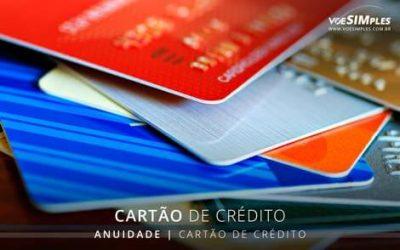 anuidade de cartões de crédito