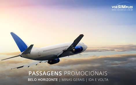 Passagem aérea para Belo Horizonte